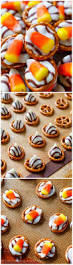 Halloween Pretzel Sticks by Candy Corn Pretzel Hugs Sallys Baking Addiction