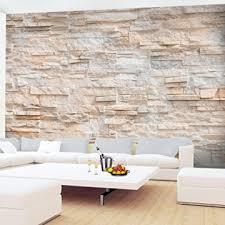 fototapete steinwand 3d effekt 396 x 280 cm vlies wand