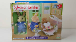 Calico Critters Master Bathroom Set by Country Dentist Set Sylvanian Families Youtube