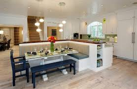 14 kücheninsel mit integrierter sitzbank ideen kücheninsel