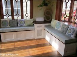 Elegant Window Bench Seat Best Home Design Ideas And With Storage Regard To Amazing Dining Room Cushion