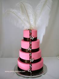 Pink Cake Box Grand Opening Party  Wedding Cakes