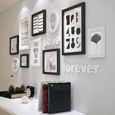 moderne massivholz bilderrahmen set wohnzimmer esszimmer schlafzimmer fotowand kreative bilderrahmen wanddekoration wohnkultur