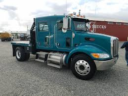 2009 Peterbilt 335 Flatbed Truck For Sale, 32,455 Miles | Spokane ...