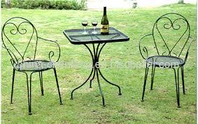 metal outdoor furniture bistro set
