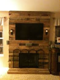 Artistic Pallet Peel And Stick Wood Wall Design Decorations 69