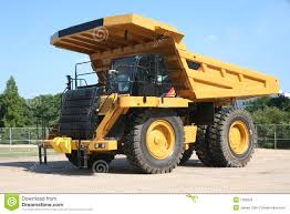 Heavy Duty Dump Truck Stock Photo. Image Of Strong, Carry - 1282002