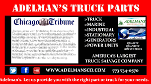 Adelman's Truck And Equipment Donated Old Vehicles, To The Fire ... Truck Parts Inventory Adelmans Youtube New Engine Driveline And Exhaust Supplier 16v92tt Detroit Diesel Run Test 118 Branching Bubble 5 Lamps By Lindsey Adelman Clear Gold 3d Model In Dozens Of Suspected Stolen Cars Found Salvage Yard Nbc Chicago Aaron President Linkedin Mercedes Benz Om 906 La Diesel 2000 Pclick Pickup Van Competitors Revenue Differentials Heavy Duty Semi