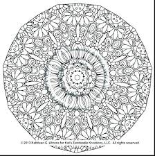 Fairy Mandala Coloring Pages Adults Printable Children Free