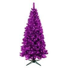 Black Fibre Optic Christmas Tree 7ft by Purple Pine Tree Christmas Tree Purple Pine From Festive