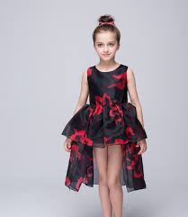 online get cheap black and red flower wedding dresses