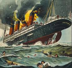 the sinking of the lusitania america s entry into world war i a