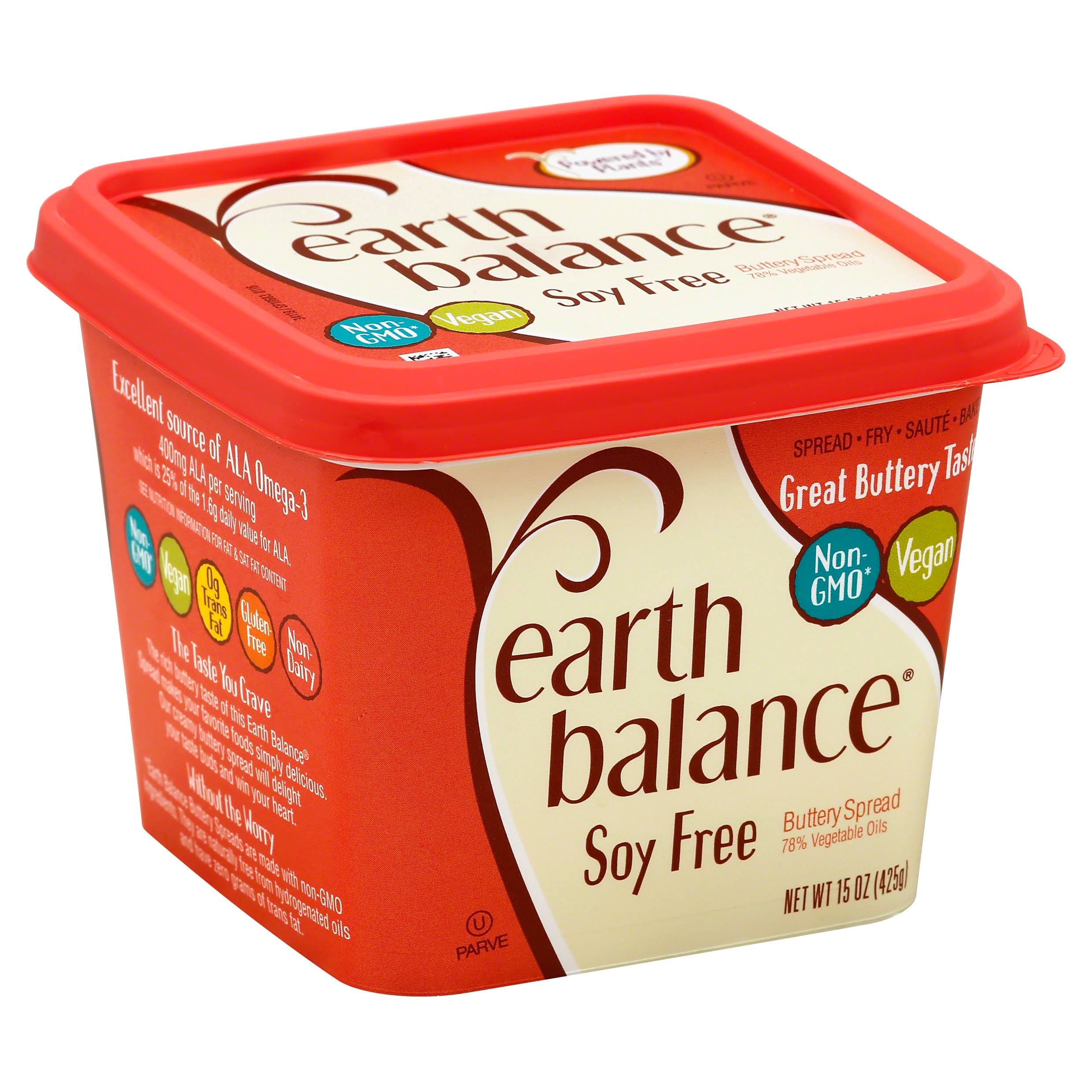 Earth Balance Soy Free Natural Buttery Spread