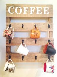 Easy Wood Craft Ideas Pallet Coffee Cup Holder Cool Projects For Home Decor