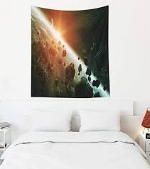 qingyu der horizont der erde mondraumkunst element