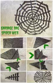Scary Halloween Props Diy by Spiderwebs Garbage Bags U003d 5 00 Decoration Halloween