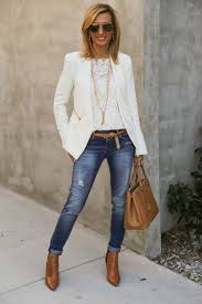 Business Casual Jeans Women Best Outfits4