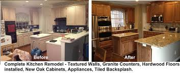 Kitchen Remodeling Pictures Before And After Vintage Bar Stools Faucet Repair Dining Room Lights Modern