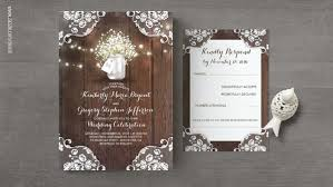 Read More BABYS BREATH FLOWERS RUSTIC LACE WEDDING INVITATIONS