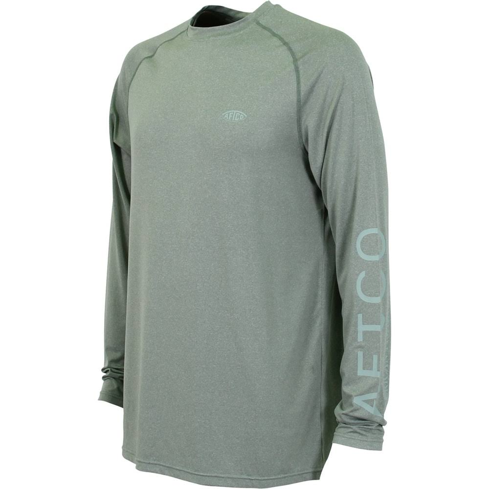 Aftco Samurai Heathered LS Shirt