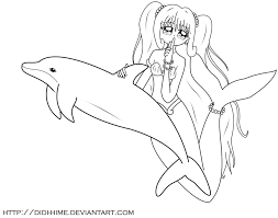 Mermaid Melody Coloring Pages Luchia