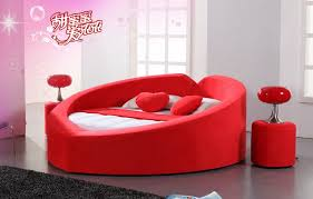 Best Selling King Size Leather Round Bed Sale Buy Round Bed