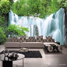 Grand Waterfall Photo Wallpaper Natural Landscape Wall Mural Background Room Decor Sitting Bedroom Hallway Kids Bg 2707 Wallpapers Hq