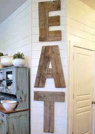 Country Diner Barn Wood Kitchen Sign Source Sweetpickinsfurniture Typography Lends Itself Quite Well To Rustic Wall Decor