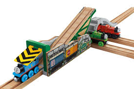 Thomas And Friends Tidmouth Sheds Wooden by Fisher Price Thomas U0026 Friends Wooden Railway Tidmouth U0027s Tipping