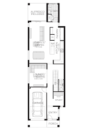 100 10 Metre Wide House Designs Ellerston Plans Narrow Block Homes Rawson Home Builders