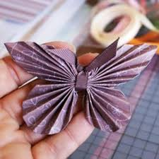 Paper Crafts For Decorating Gifts With Butterflies