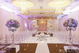 High Class Wedding Ceremony Interior Decorating Ideas