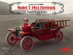 100 Model Fire Truck Kits T 1914 Truck American Car 100 New Molds ICM Holding