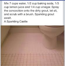 how to clean tiles grout household tips pinterest tile