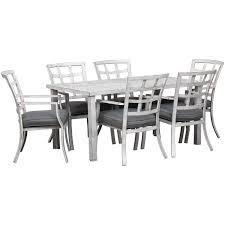 Magnolia 7 Piece Patio Dining Set Comfortcare 5piece Metal Outdoor Ding Set With 52 Round Table T81 Chair Provence Hampton Bay Mix And Match Stack Patio 49 Amazoncom Christopher Knight Home Lala Grey 7 Chairs Of 4 Tivoli Tub Black Merilyn Rope Steel Indoor Beige Washington Coal Click Pc Stainless Steel Teak Modern Rialto Rectangle 6