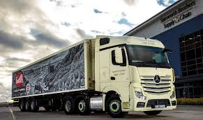100 New Mercedes Truck Actros For Ginsters Maker Commercial Motor