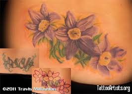 Purple Power Lower Back Cover Up