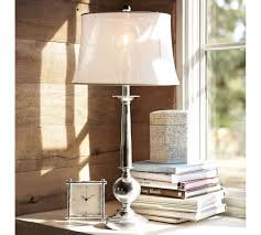 Pottery Barn Floor Lamp Assembly by Gillian Candlestick Lamp Base Pottery Barn