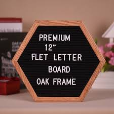 10 White Letter Board Felt Backing With Slots To Insert Letters