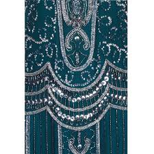 ziegfeld embellished flapper dress by frock and frill