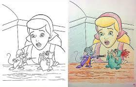 Curiosities Corrupted Disney Coloring Books