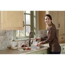Moen Brantford Kitchen Faucet Oil Rubbed Bronze by Moen 7185orb Brantford Oil Rubbed Bronze Pullout Spray Kitchen