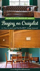 Craigslist Leather Sofa Dallas by Secrets Of A Craigslist Addict Buying On Craigslist The