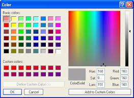 Color Chooser Tkinker Python Tutorial