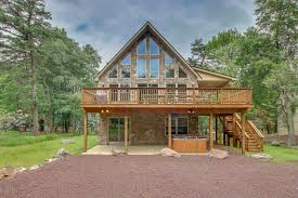 100 Wolf Creek Cabins Great Pocono Jacuzzi Cabin Poconos Mountain Rentals