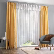 gardine mit deko vorhang für ihr wohnzimmer