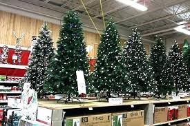 Home Depot Christmas Trees White Tree Artificial Sale