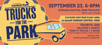 100 Food Trucks Durham For The Park 23 SEP 2018