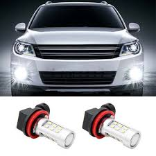 2pcs h11 h8 led canbus bulbs fog light replacement led bulbs for