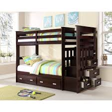 Storkcraft Bunk Bed by Acme Furniture Allentown Twin Over Twin Wood Bunk Bed Espresso